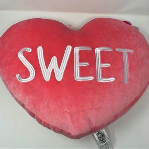 SWEET Super Soft & Squishy Bright Coral Pillow